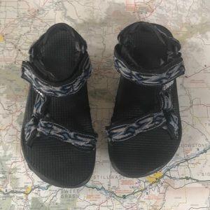 Teva Velcro Sandals, Kids Size 11